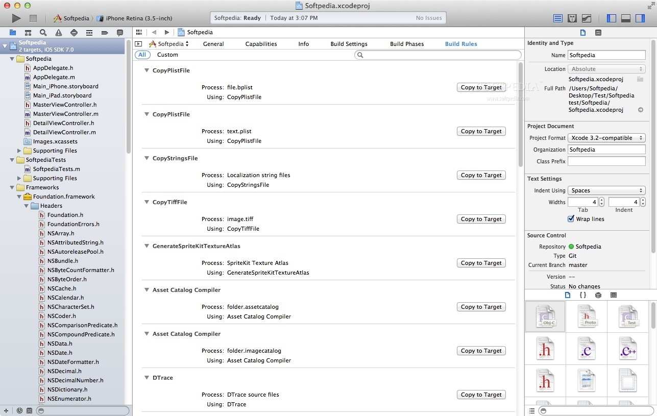 Apple Xcode screenshot 4
