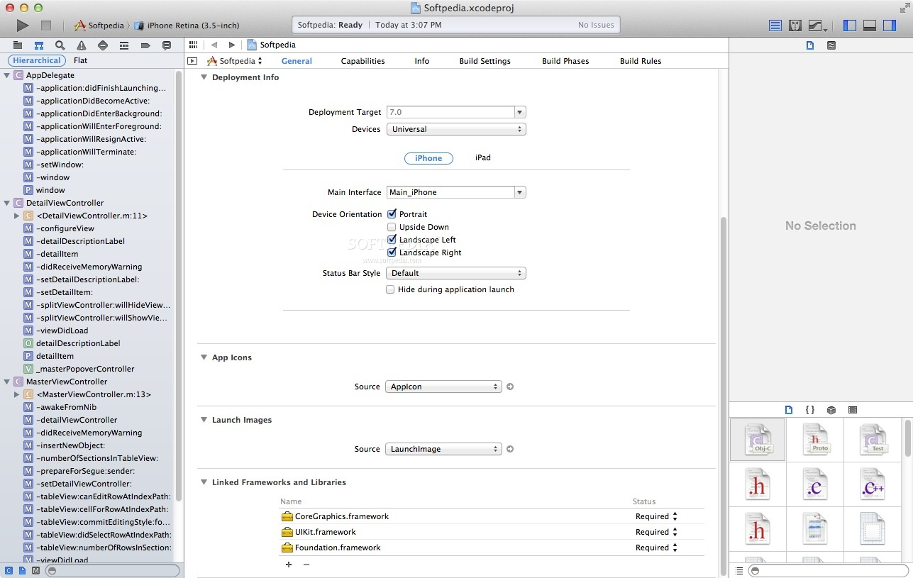 Apple Xcode screenshot 7