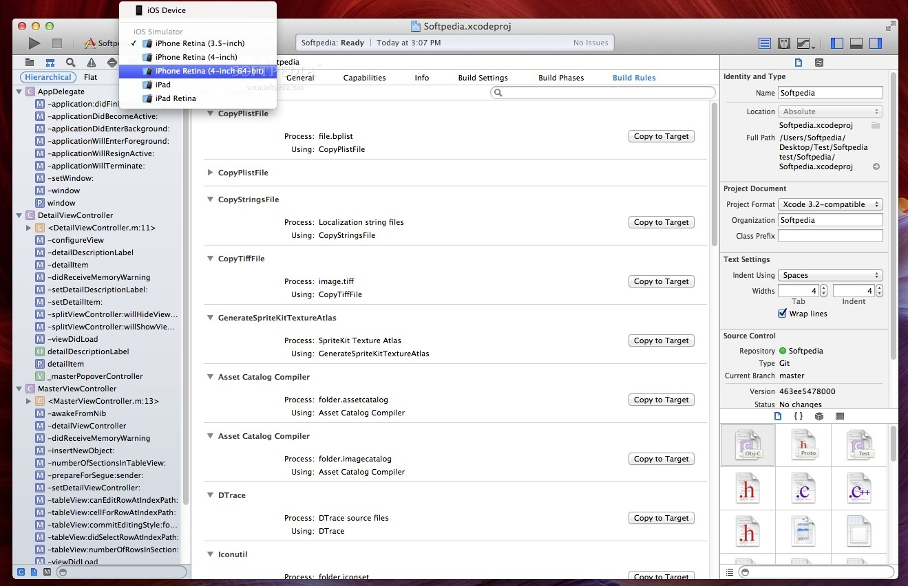 Apple Xcode screenshot 8