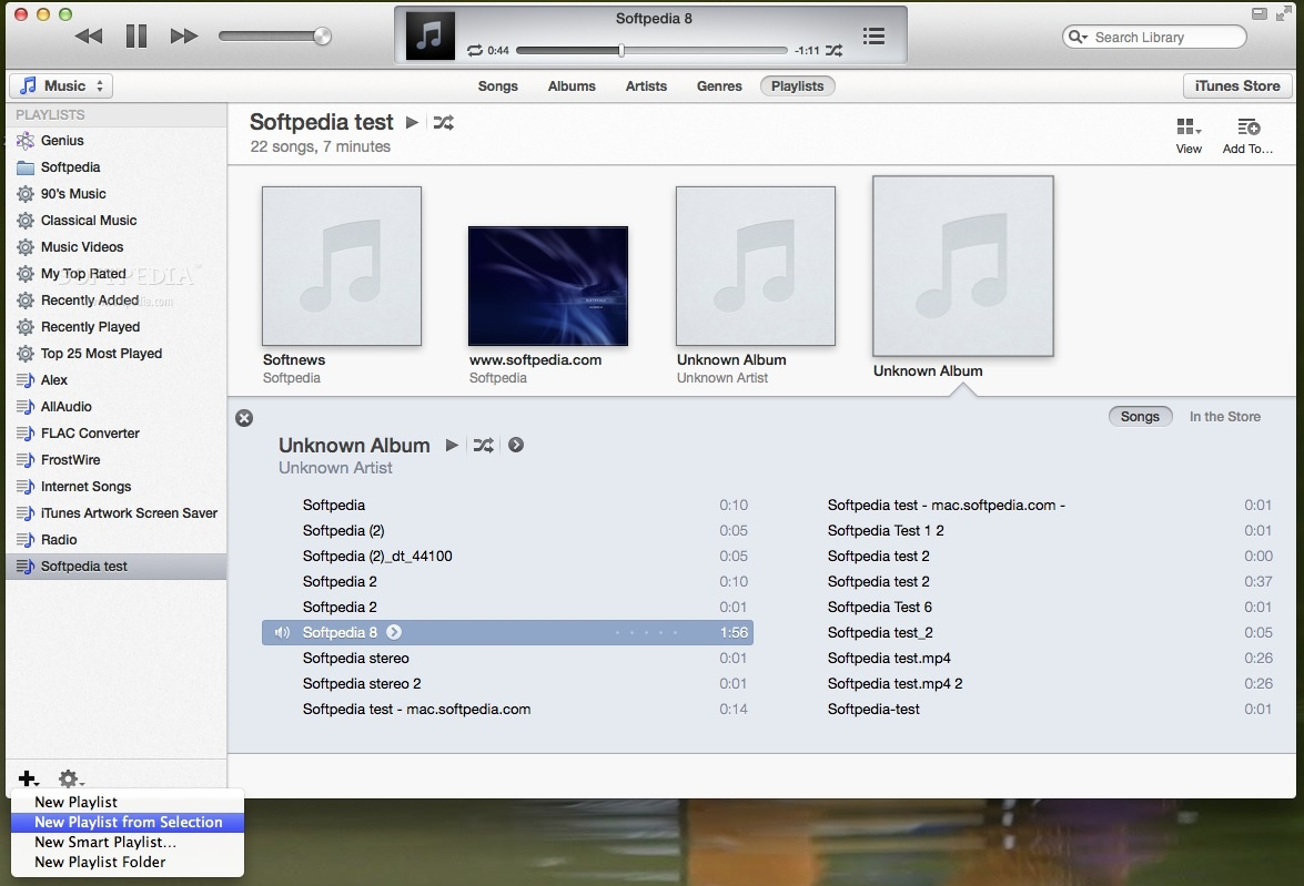 Apple iTunes screenshot 11