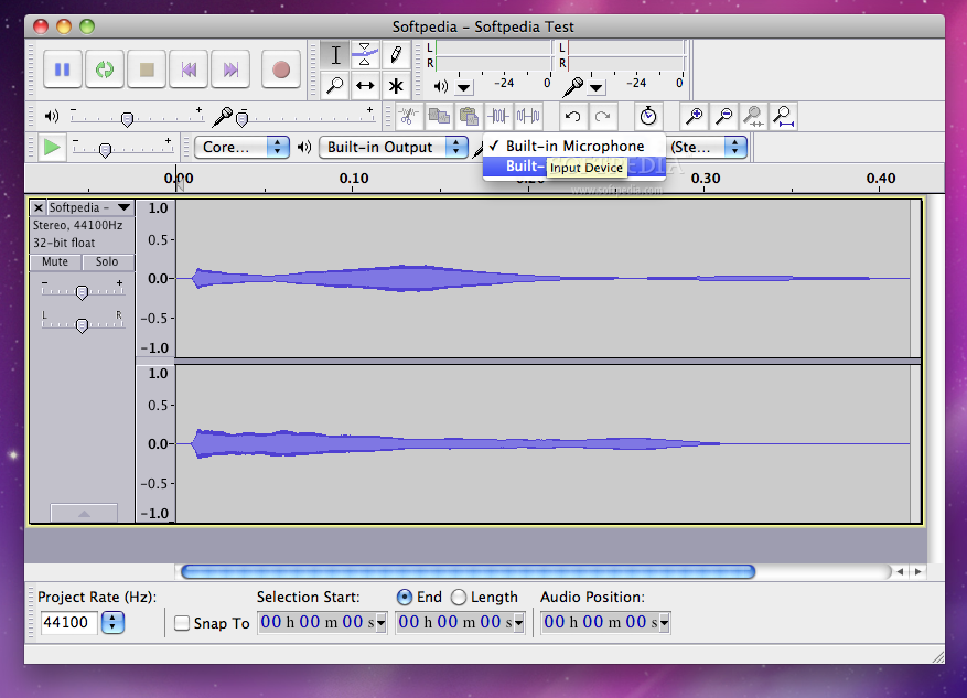 how to make a track quieter in audacity