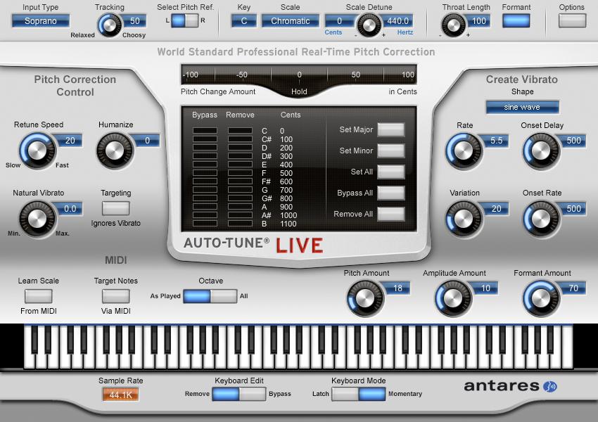 Auto-Tune Live Mac 1 1 1 - Download