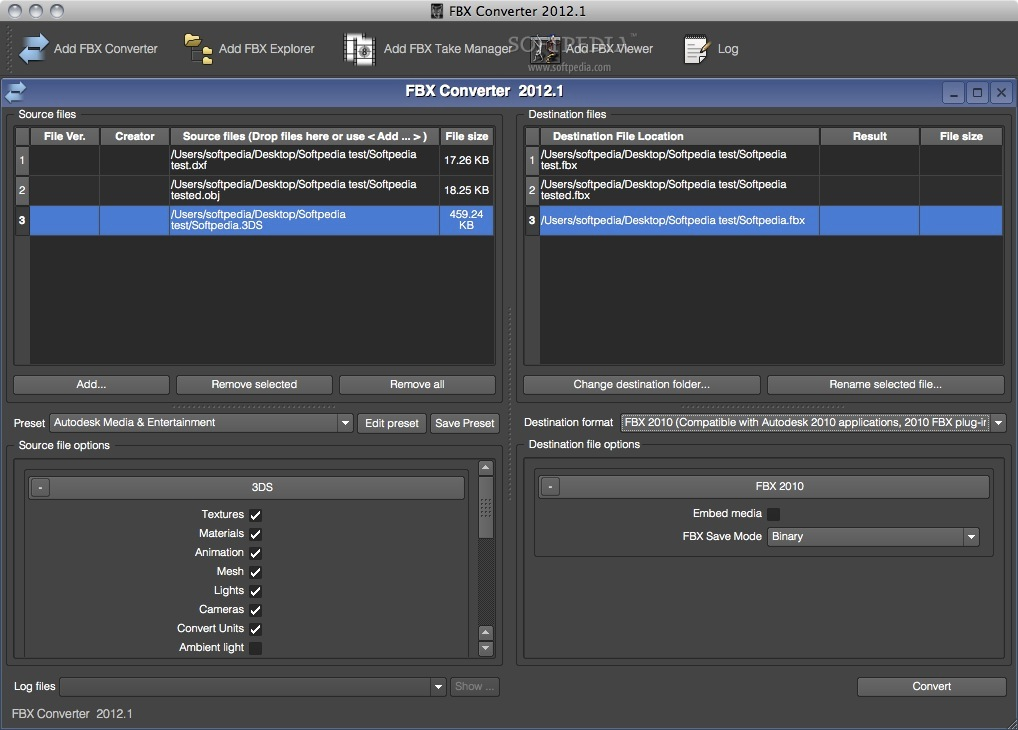 Step by step guide to fix Autodesk FBX Converter exception