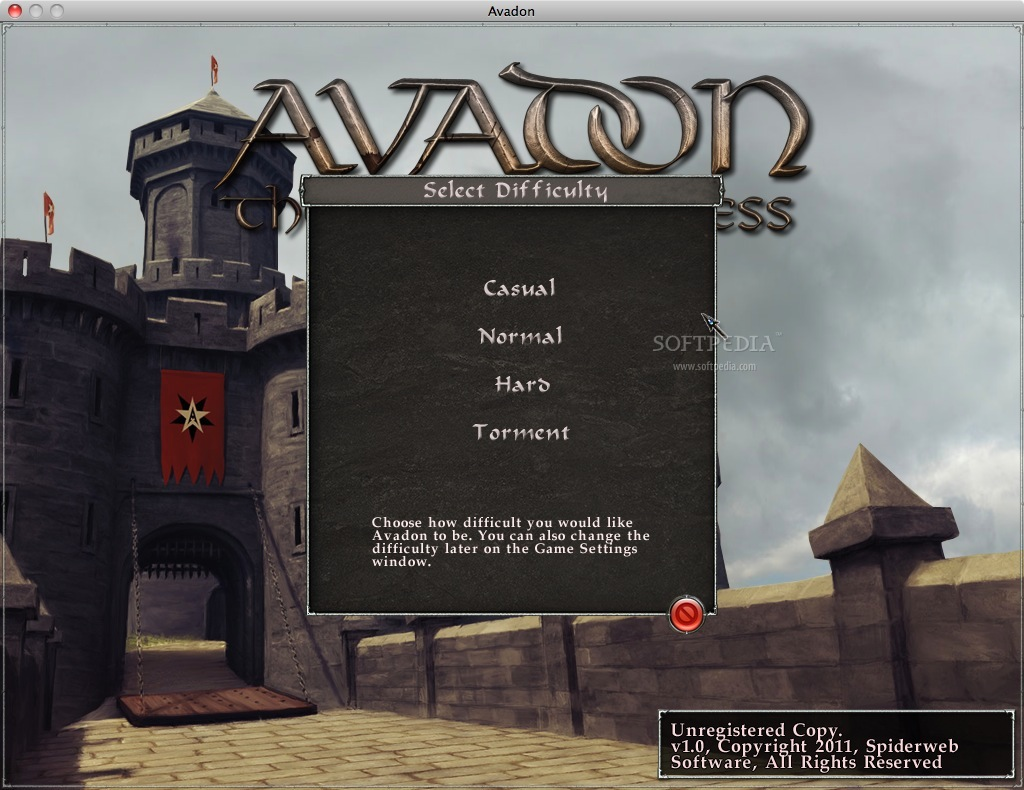 Avadon: The Black Fortress - You have the possibility to choose the