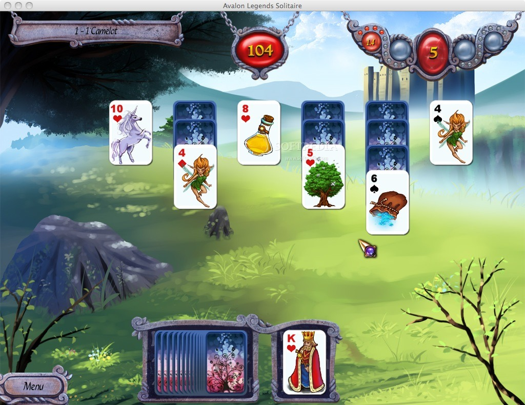 Avalon Legends Solitaire Android