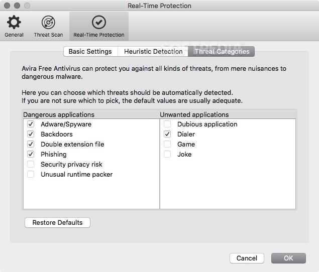 avira free mac security review