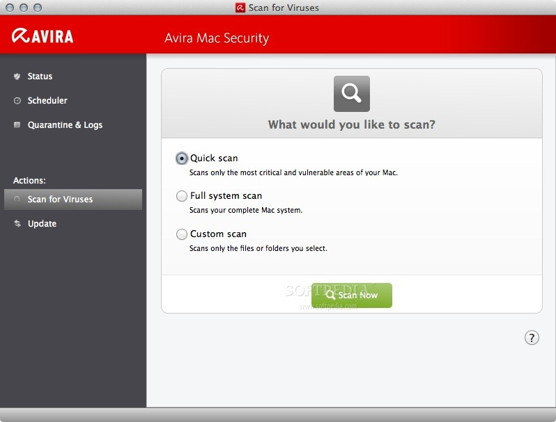 Avira Free Mac Security screenshot 5