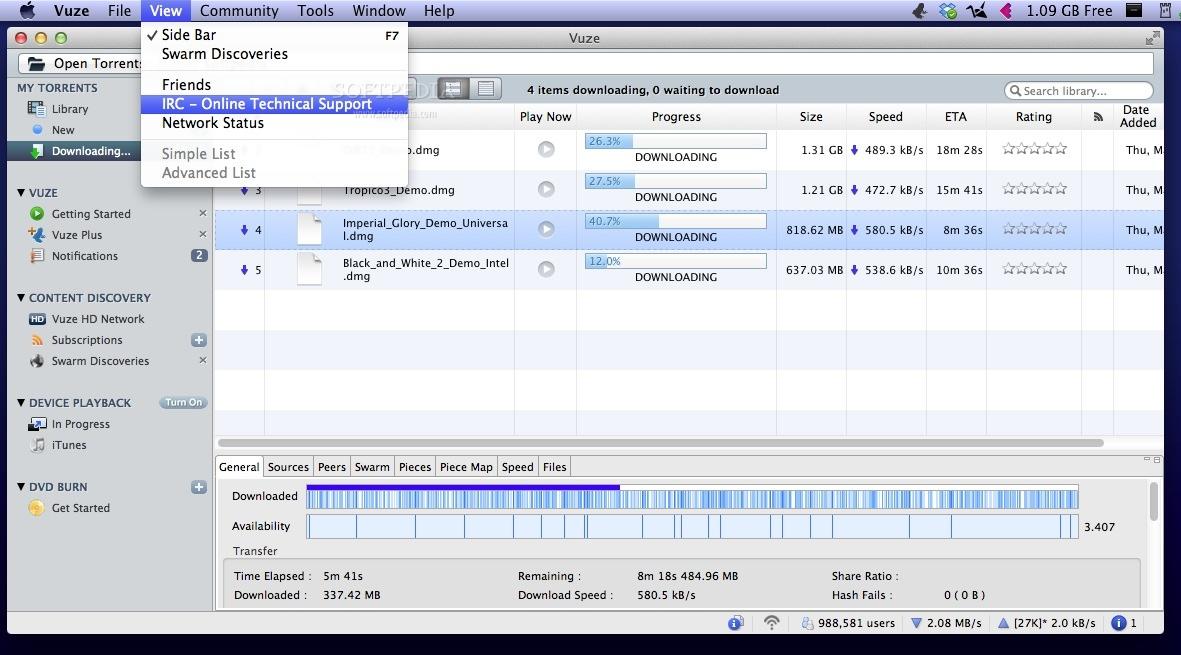 Comment <b>télécharger</b> un <b>torrent</b> sur un <b>Mac</b> avec <b>uTorrent</b>
