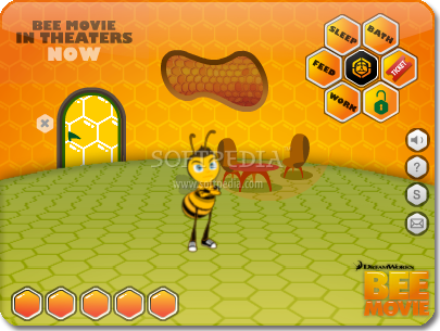 BEE-A-PET screenshot 1 - Bee a pet will let you take care of your own bee, all day long.
