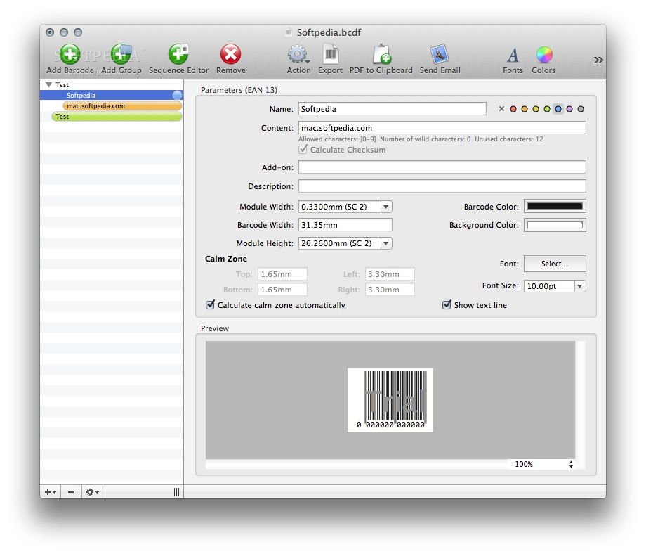Barcody 3.16 For Mac