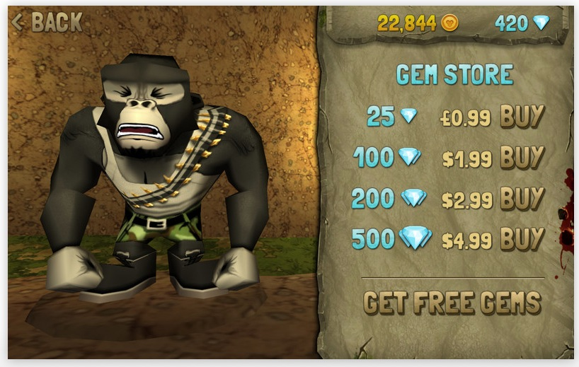Battle Monkeys Fully Loaded screenshot 1