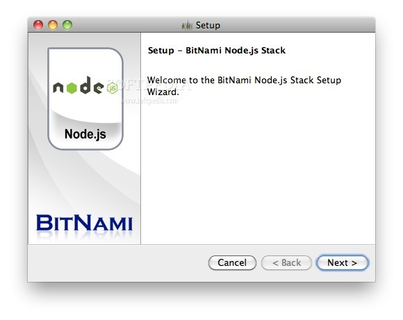 BitNami NodeJS screenshot 1