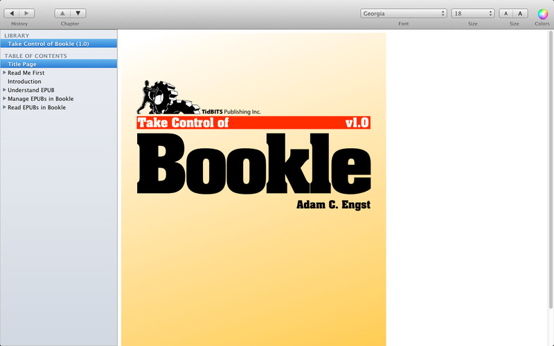 Bookle screenshot 1