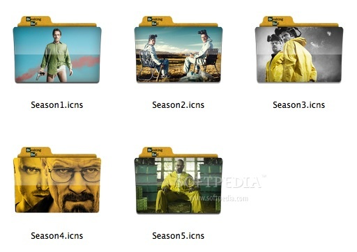 Breaking Bad Premium TV Folders screenshot 1