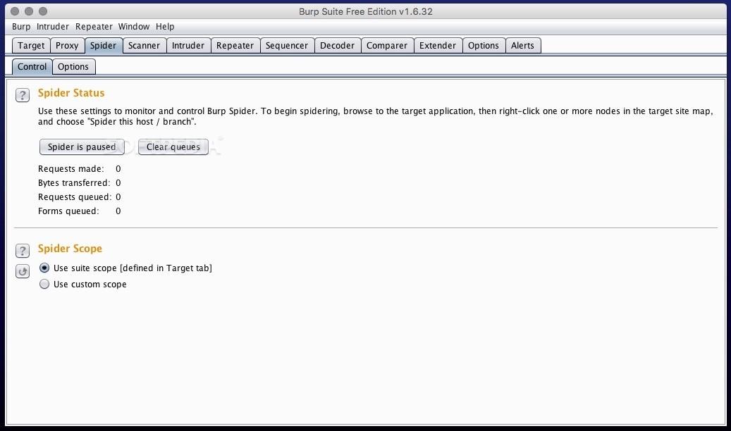 Burp Suite Mac 1 7 36 - Download