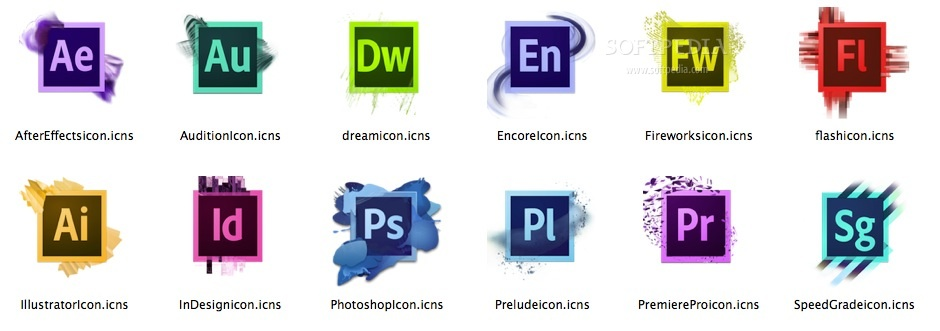cs6 icons redesign mac