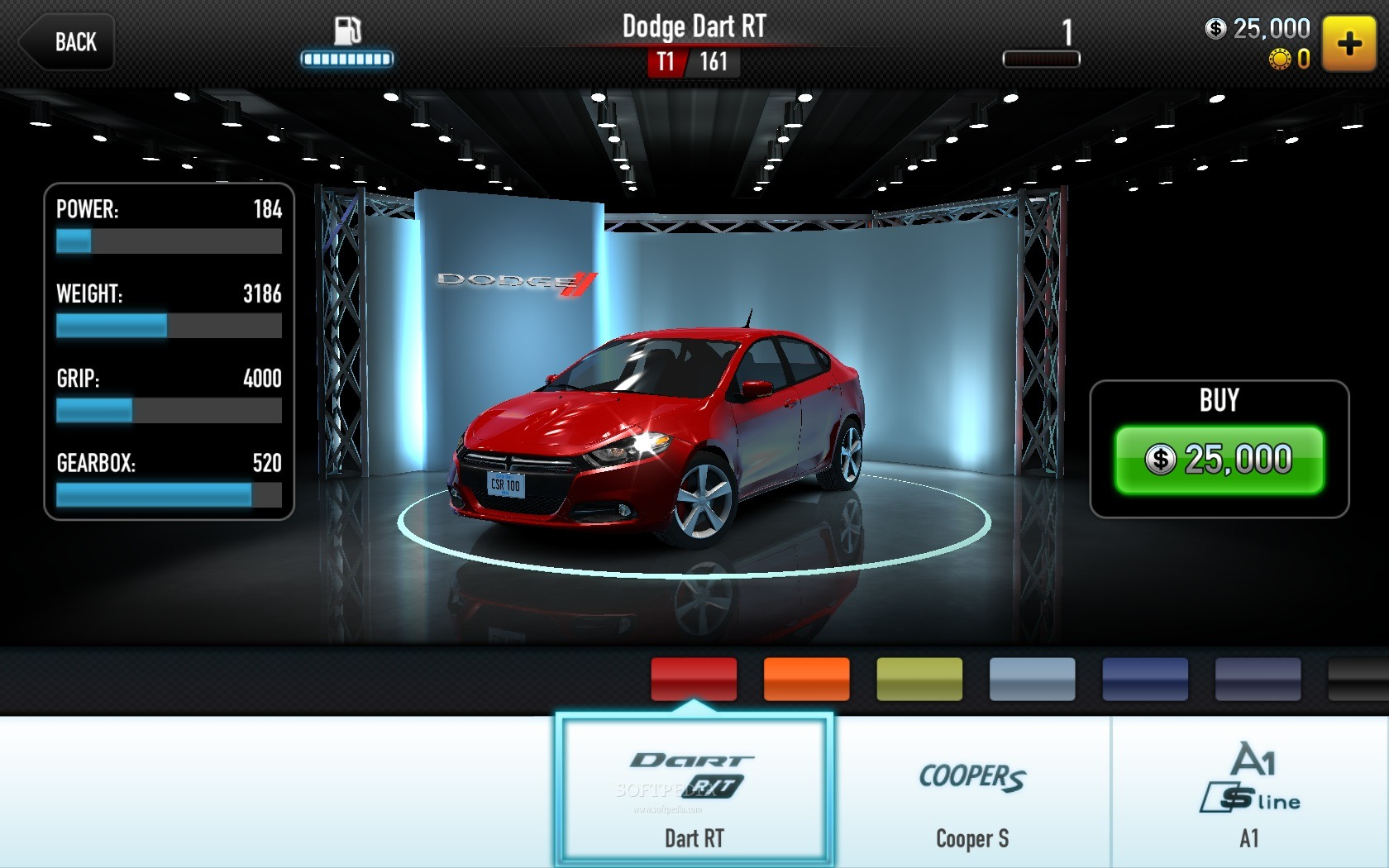csr racing screenshots