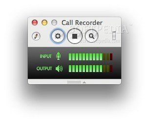Call Recorder for Skype screenshot 1 - From Call Recorder for Skype's main window you will be able to record your Skype calls.