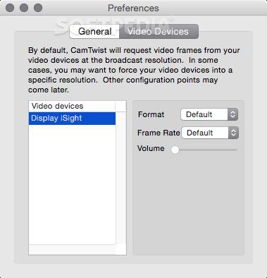 CamTwist Mac 3 4 3 - Download