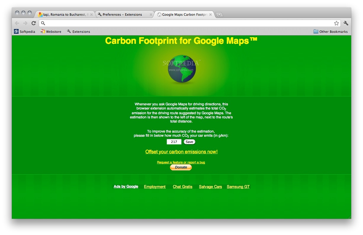 Every Google search results in CO2 emissions. This real ...