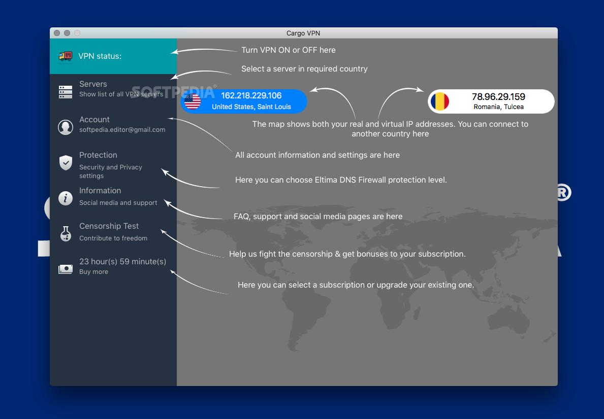 Cargo VPN Mac 1 4 - Download
