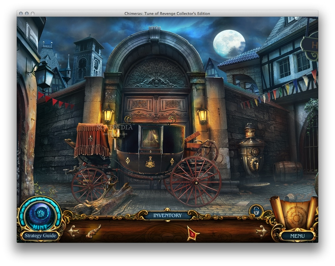 Chimeras: Tune of Revenge CE screenshot 1 - In the main window you must explore your surroundings.