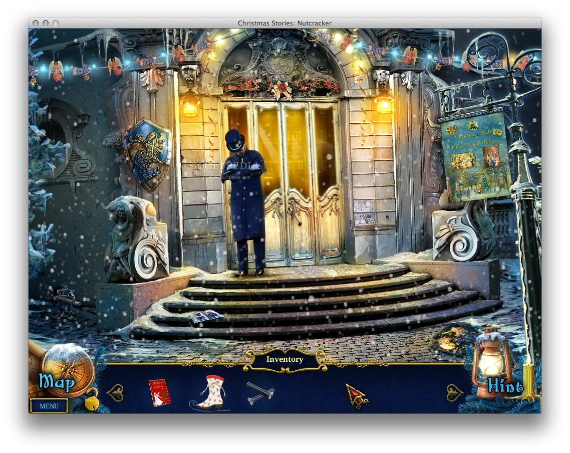 Christmas Stories: Nutcracker screenshot 1 - In the main window you can explore the surroundings.