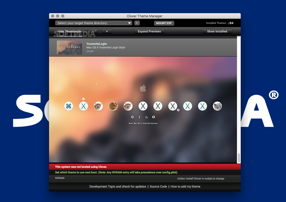Clover Theme Manager Mac 0 77 2 - Download