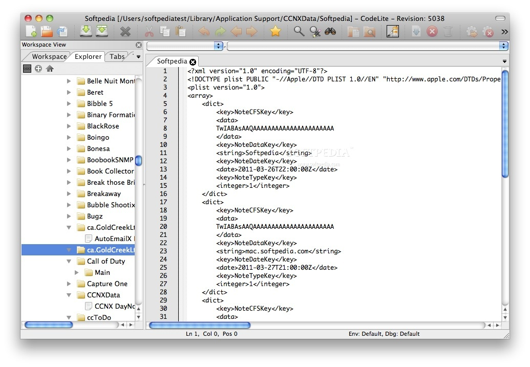 development environment specially designed for developers who want to develop applications for mac, ipad