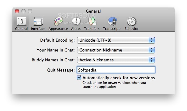 Colloquy Mac 2 4 3 Build 6011 - Download