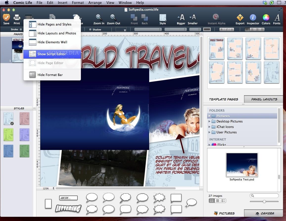 comic life 2 free download for mac