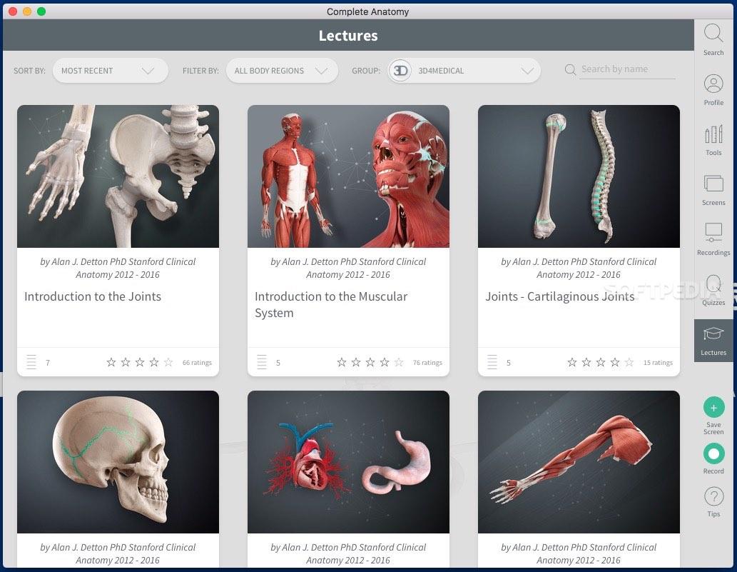 Complete Anatomy 2020 Mac 5 0 3 - Download