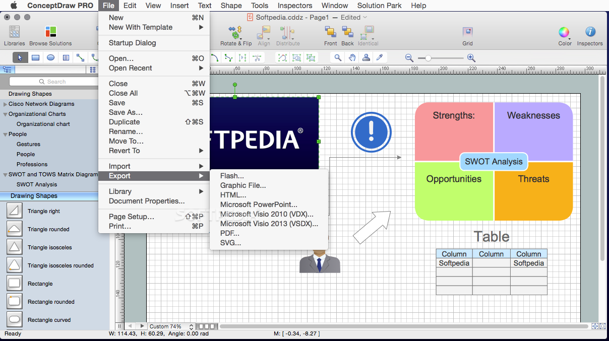 ConceptDraw Office Mac 5 0 0 3 - Download