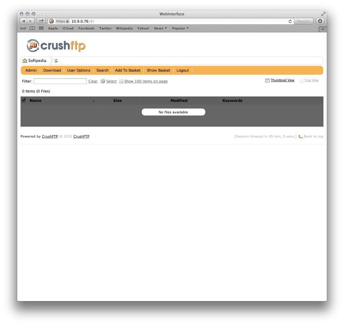 CrushFTP Mac 8 0 0 - Download
