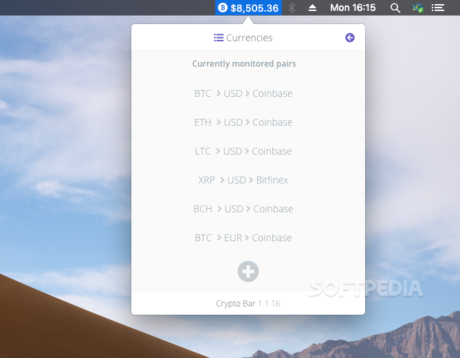 mac cryptocurrency app