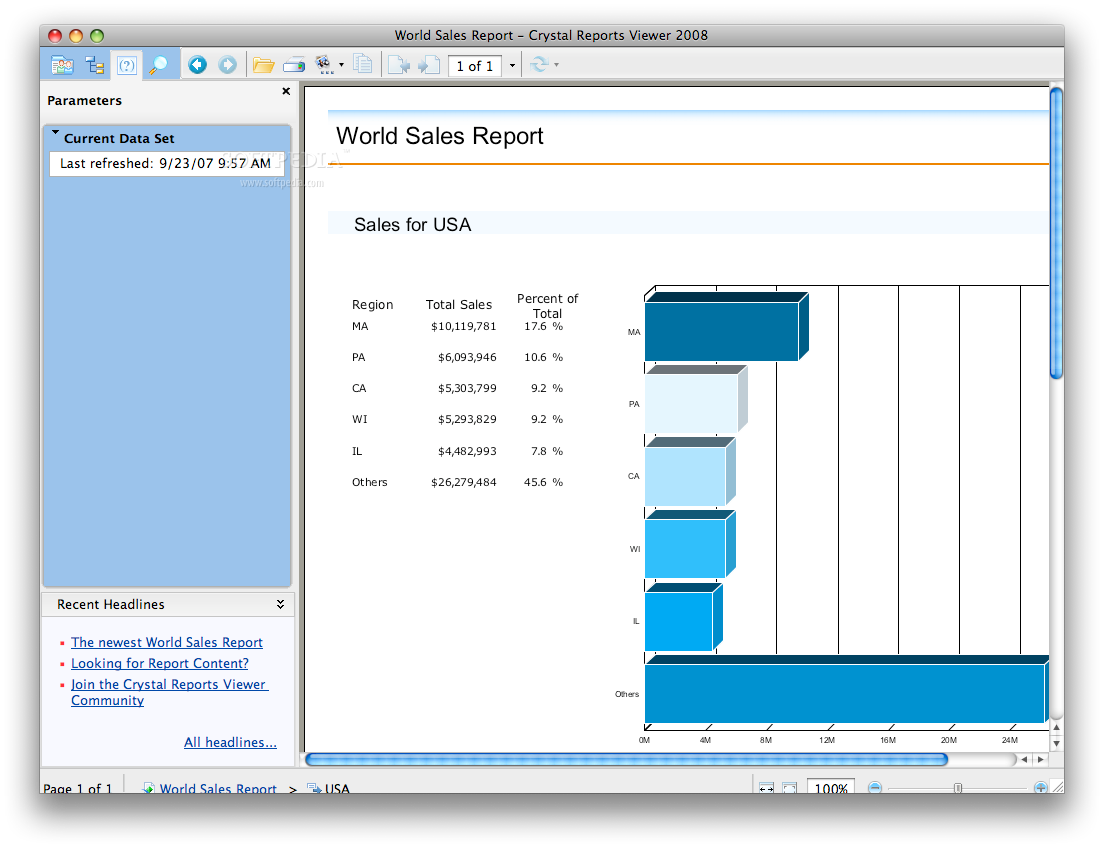 Crystal Reports Viewer Download Mac