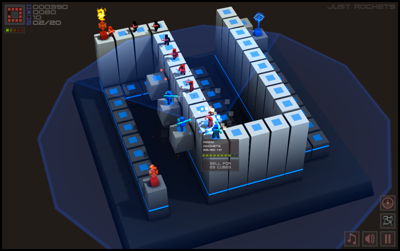 Cubemen screenshot 2
