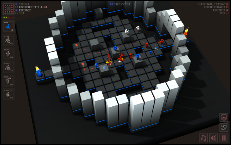 Cubemen screenshot 3