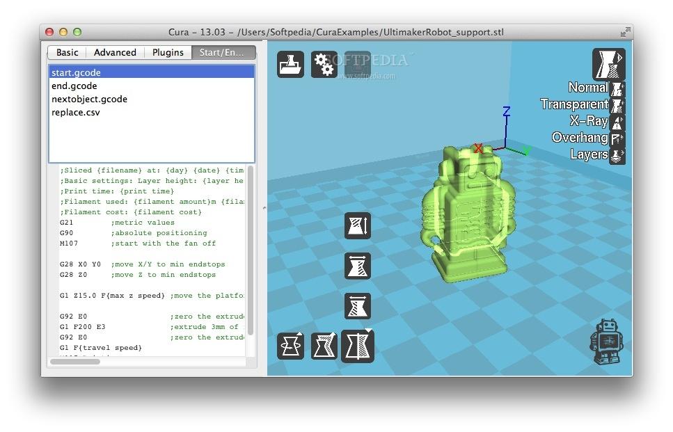 Cura Mac 3 4 1 - Download