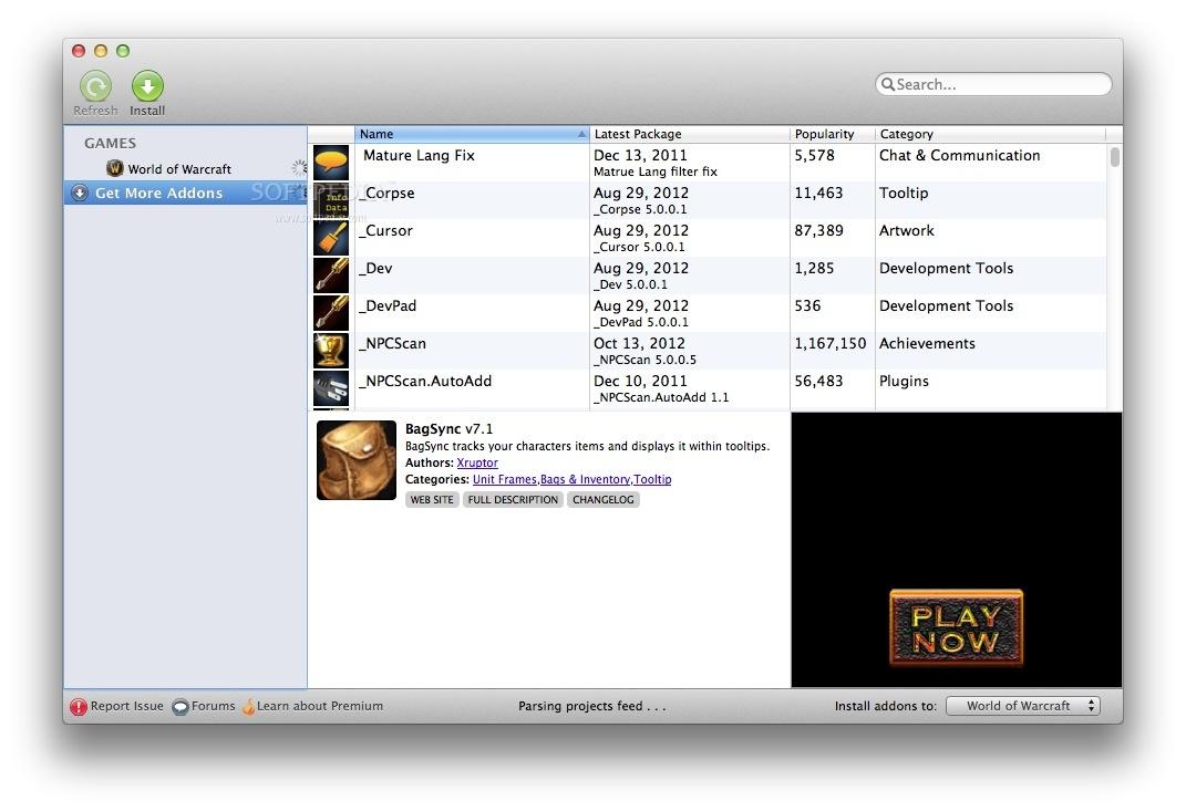 Curse Client Mac 7 0 6310 20224 - Download