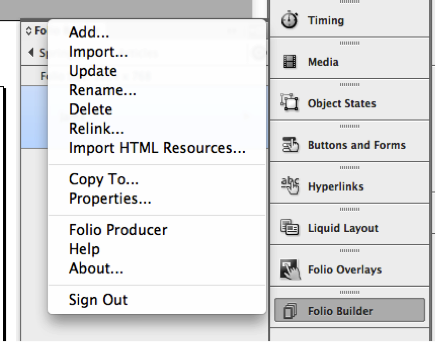 how to create a folio in indesign