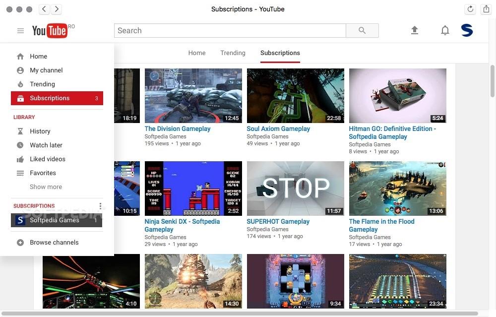 DeskApp for YouTube Mac 1 3 - Download