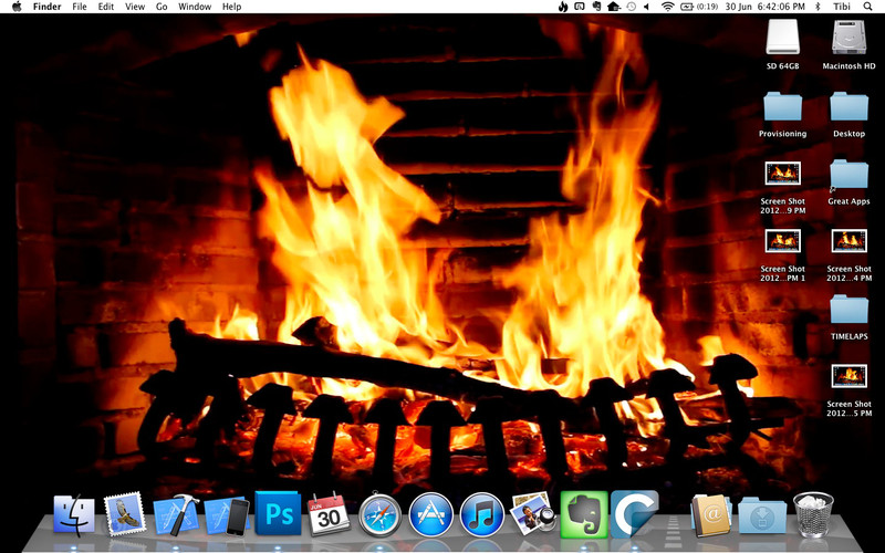 Desktop Fireplace screenshot 2