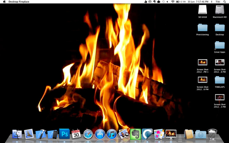 Desktop Fireplace screenshot 5