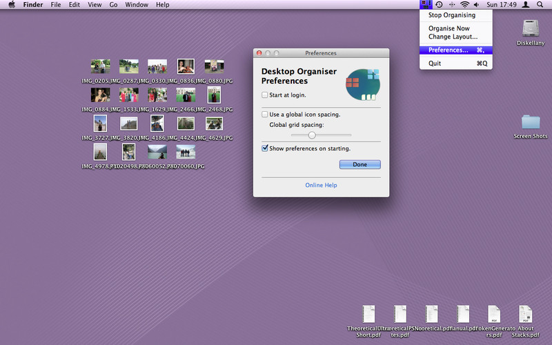 Desktop Organiser screenshot 2