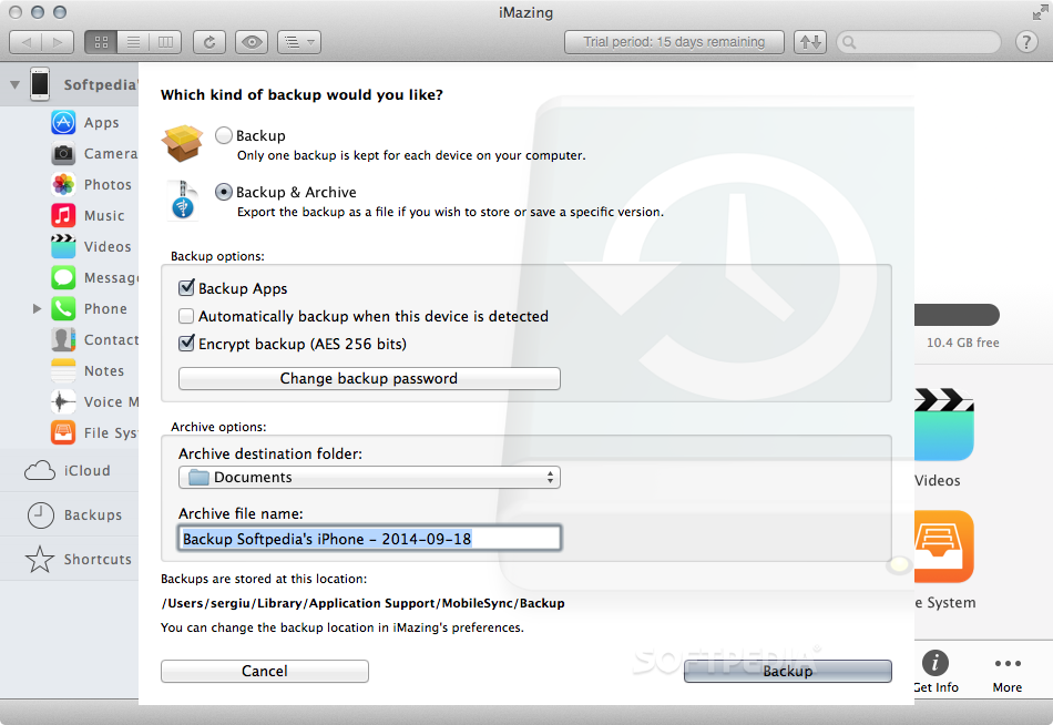 iMazing Mac 2 10 0 Build 11408 - Download
