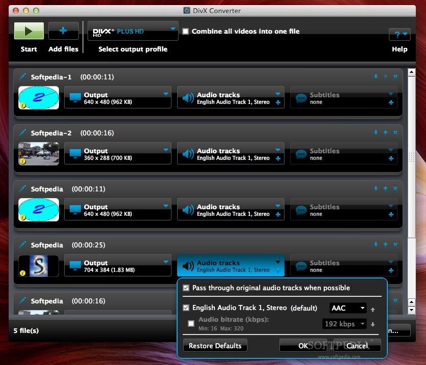 Divx 7 mac download