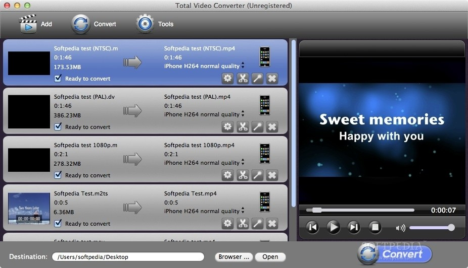 Total Video Converter Pro screenshot 1