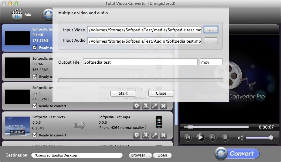 Total Video Converter Pro screenshot 4