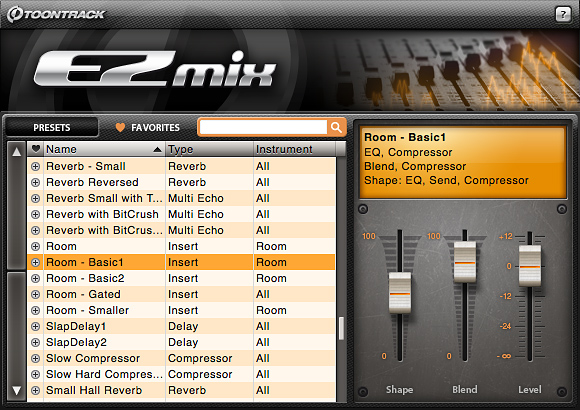 EZmix screenshot 1
